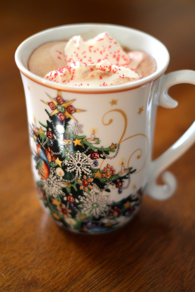 Peppermint Hot Cocoa // Flour and Fancy