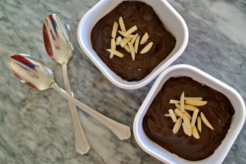 Jenna's Dark Chocolate Pudding // Flour and Fancy