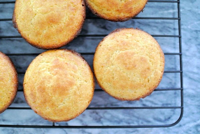 Gluten-Free Cornbread Muffins // Flour and Fancy