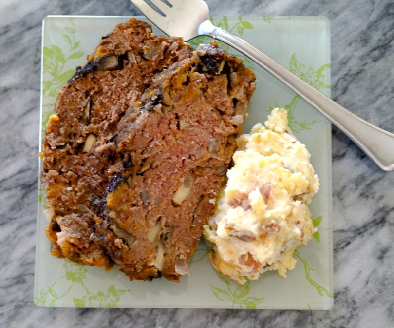 Vegetable and Cheese Meatloaf // Flour and Fancy