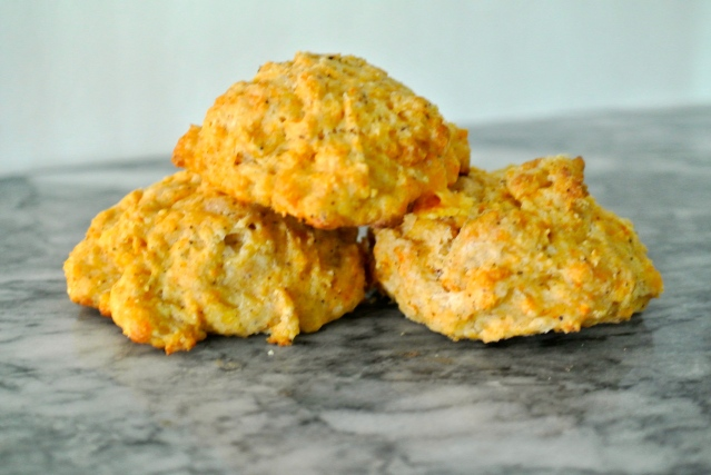 Chipotle Cheddar Biscuits // Flour and Fancy