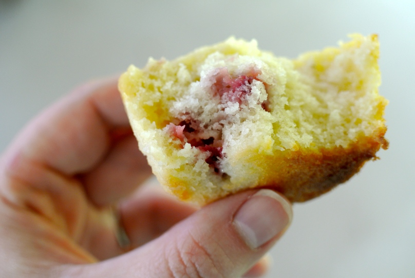 Strawberries and Cream Muffins // Flour and Fancy