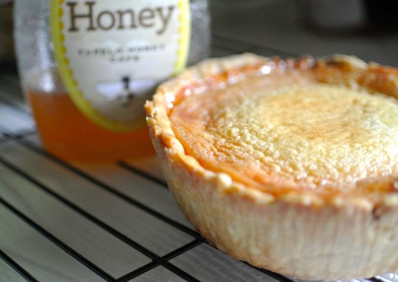 Tupelo Honey Custard Tart // Flour and Fancy
