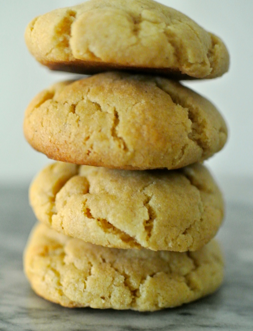 Peanut Butter Crinkle Cookies // Flour and Fancy
