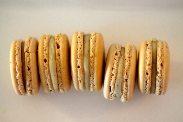 Vanilla Macarons // Flour and Fancy