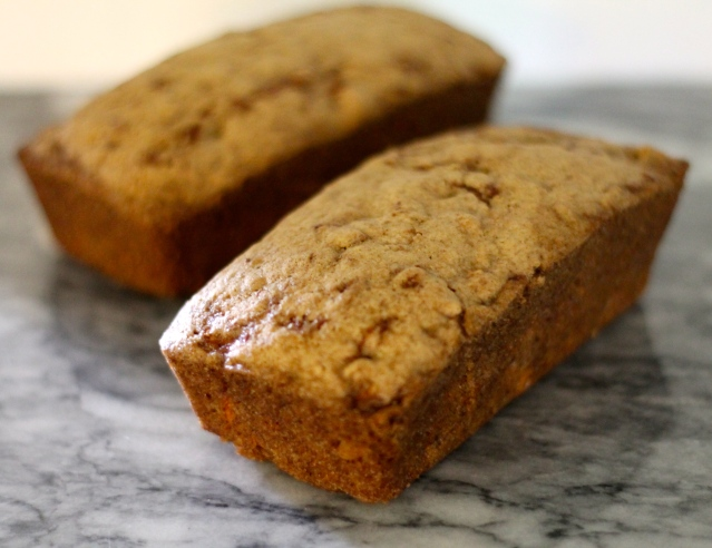 Carrot Nut Bread // Flour and Fancy