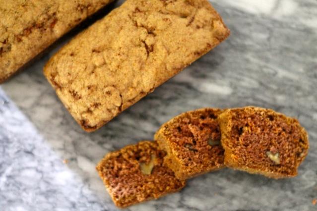 Carrot Walnut Bread // Flour and Fancy