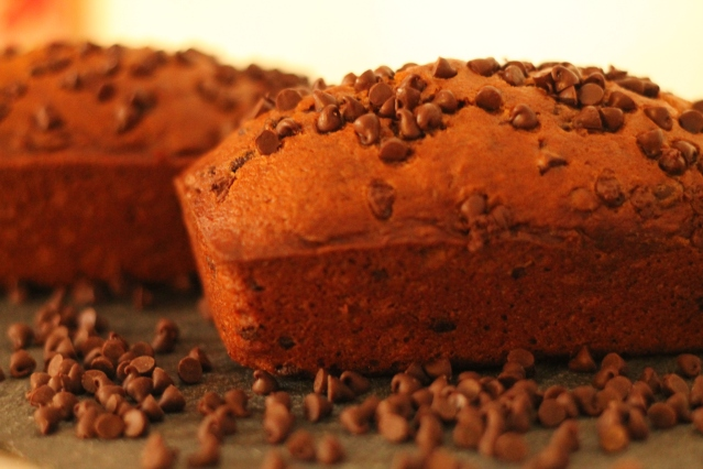 Chocolate Chip Pumpkin Bread // Flour and Fancy