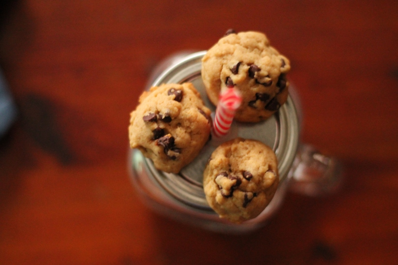 Healthy Chocolate Chip Cookies // Flour and Fancy